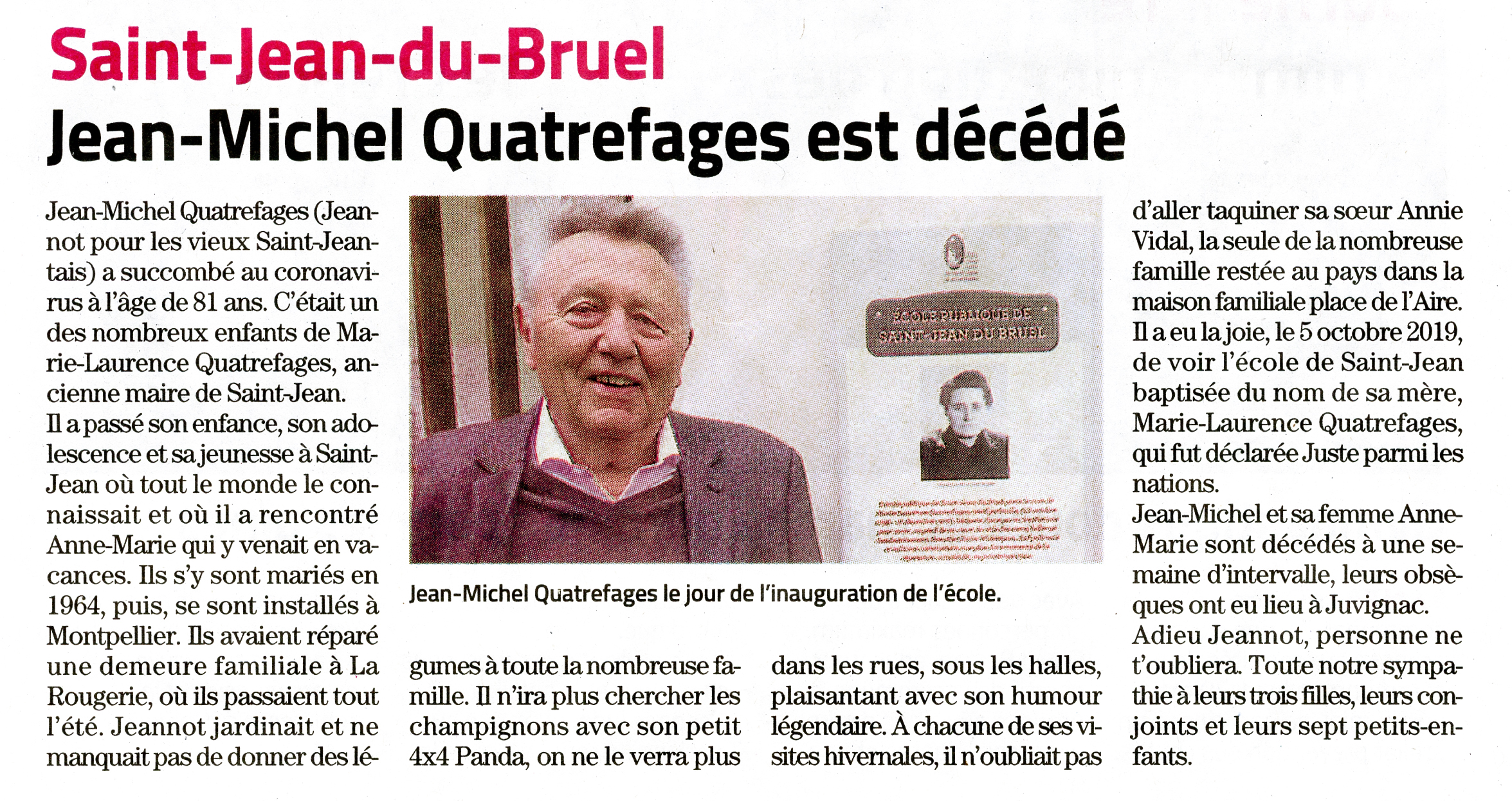 Jeannot Quatrefages