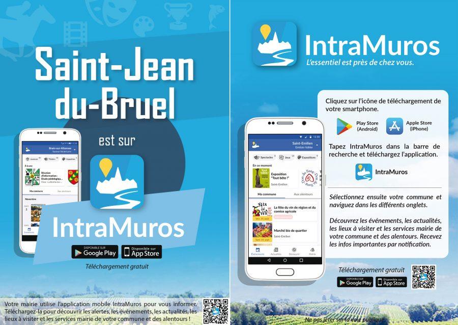 Flyer IntraMuros (format A5)